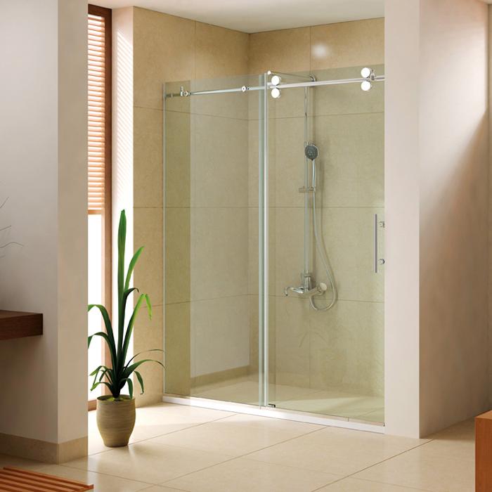 Rollers Shower Door With 1 Sliding Door Amp 1 Fixed Panel
