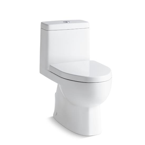 Swell Kohler Reach One Piece Compact Elongated Dual Flush Toilet With Top Mount Actuator And Skirted Trapway K 3983 S 0 Theyellowbook Wood Chair Design Ideas Theyellowbookinfo
